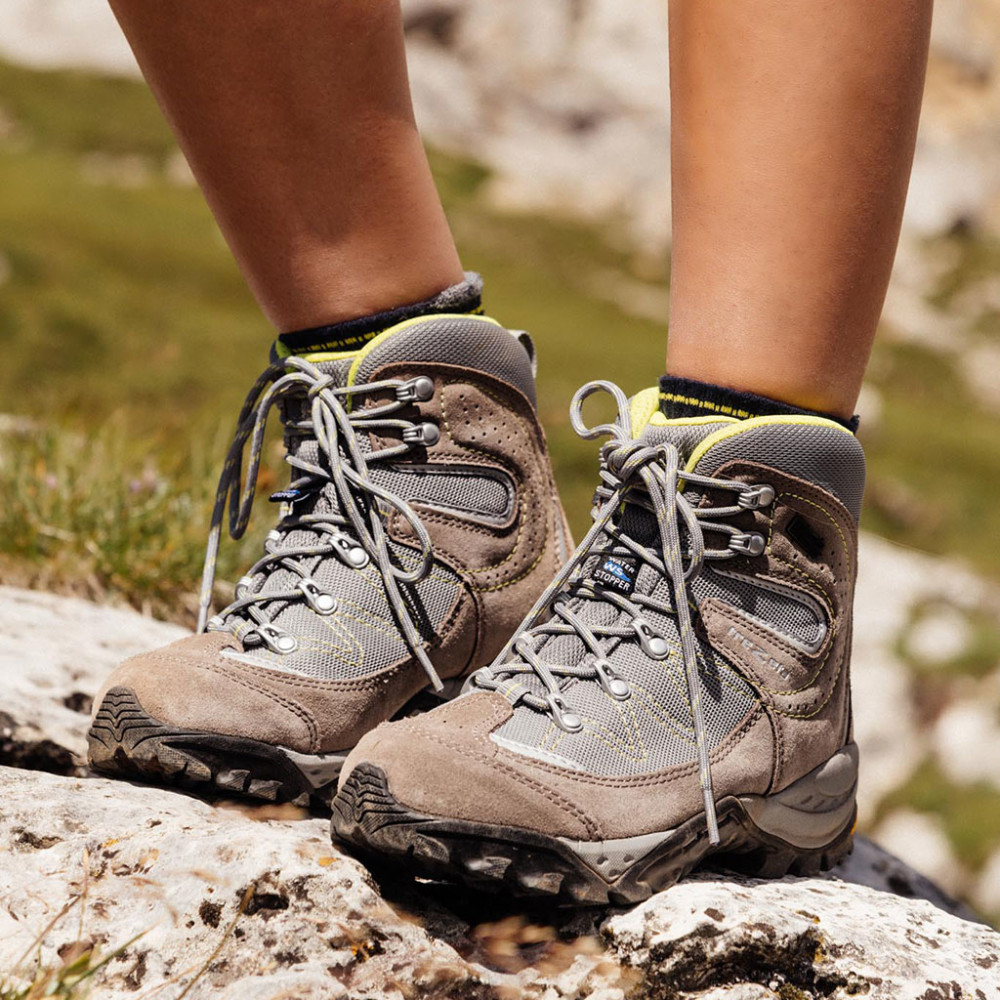 claire evo wp beige - woman's hiking shoes