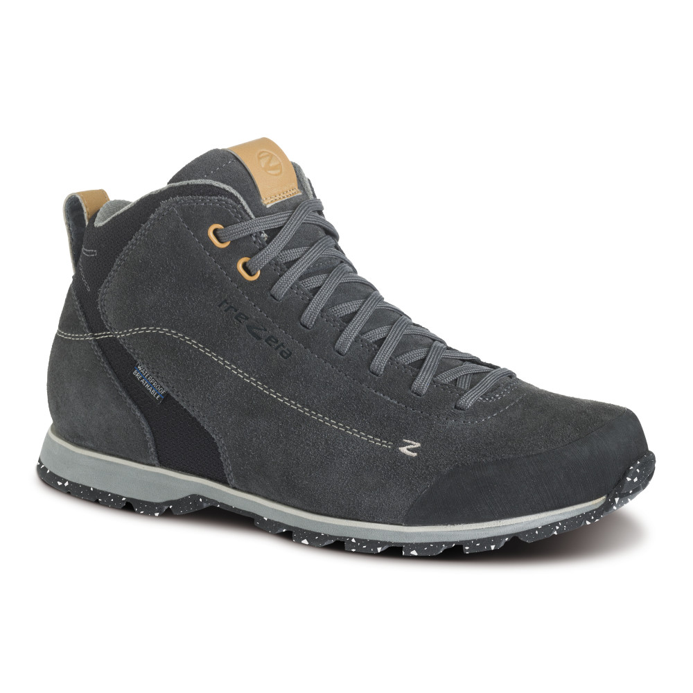 zeta mid wp dark grey - scarpa lifestyle uomo