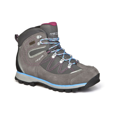 annette evo wp grey magenta - woman's hiking shoes