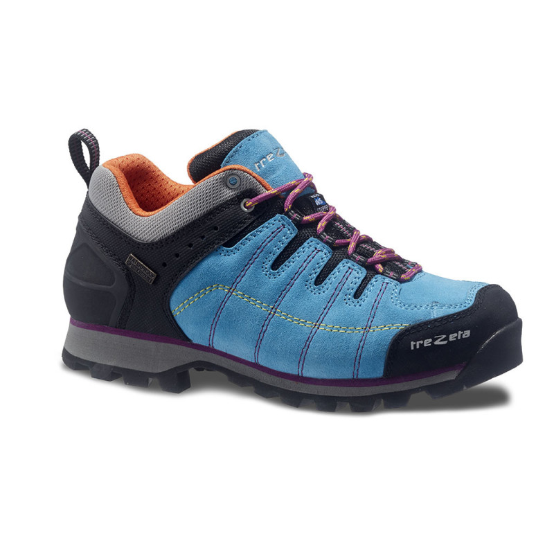 hurricane evo low w's wp azure - woman's hiking shoes