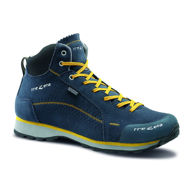 flow evo wp mid blue lemon - scarpa lifestyle uomo