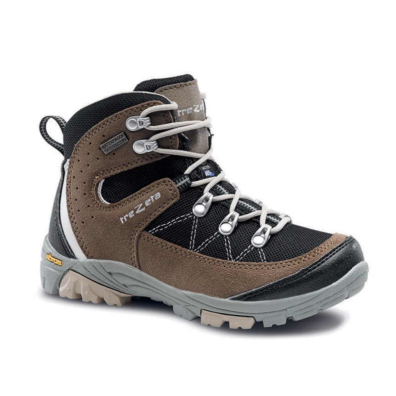 cyclone wp jr black brown - scarpa da trekking ragazzo