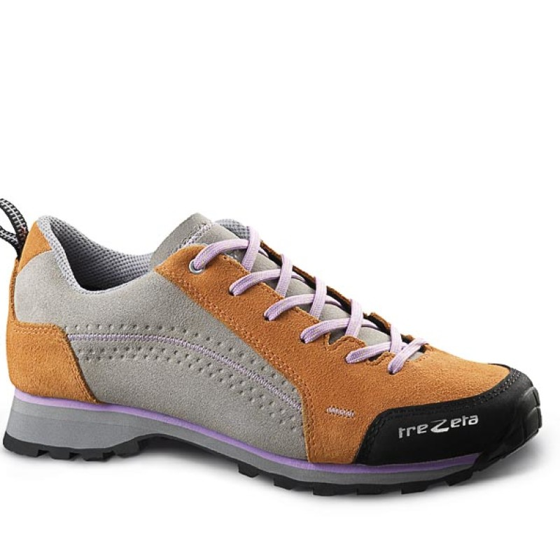 spring orange lilac - woman's lifestyle shoes